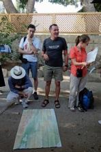 Au centre, Alain, notre guide, nous a accompagné tout au long du voyage.