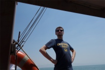Guillaume, seul maître à bord :)
