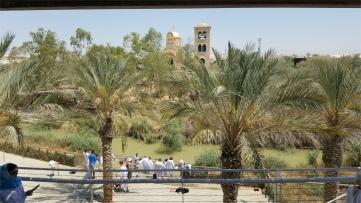Le lieu où fut baptisé le Christ !